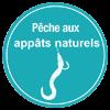 La pêche au toc et aux appâts naturels